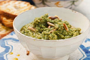 Pesto Hummus Image 1