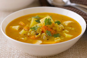 Butternut Squash and Veggie Soup