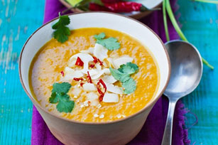 Butternut Squash, Coconut and Lime Soup Image 1