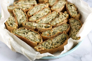 Spinach and Feta Strudel Image 1