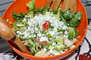 Brussels sprouts, Roquefort Cheese and Bacon Salad Image 1
