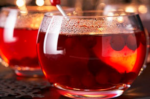Pomegranate-Cranberry Punch
