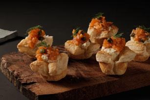 Bouchées de saumon fumé Image 1