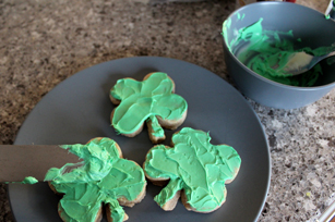 Frosted St. Patrick's Day Sugar Cookies Image 1