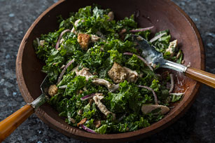Kale-Chicken Caesar Salad for Two Image 1