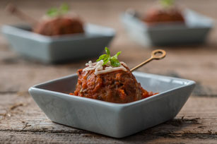 Chicken-Parmesan Meatballs Image 1