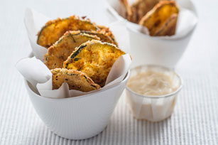 Zucchini Chips with Tangy Aioli Image 1