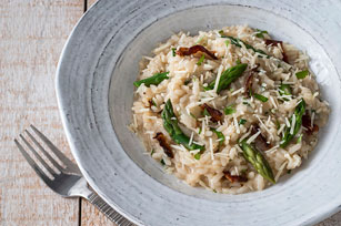 Asparagus and Bacon Risotto Image 1