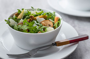 Warm Mushroom and Arugula Salad Image 1