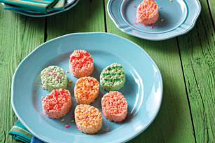 JELL-O Easter Egg Crispy Treats