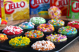 Fun & Fruity JELL-O Frosted Doughnuts Image 1