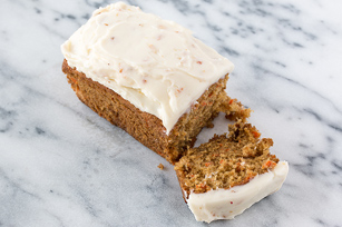 Carrot Ginger Loaves with Ginger Cream Cheese Frosting Image 1