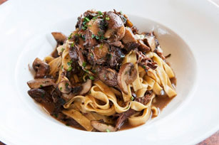Beef Short Ribs and Mushroom Pasta Image 1