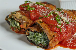 Eggplant Roll-Up Recipe
