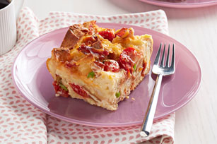 Bacon and Tomato Strata Image 1