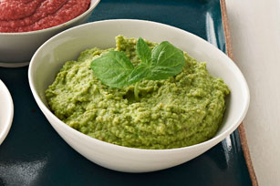 Pea and Mint Hummus Image 1
