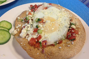 Morning Greek Tostadas Image 1