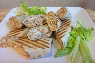BBQ Ranch Chicken Wraps Image 1