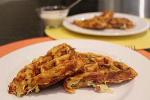 Crispy Hot Potato Waffle Image 1