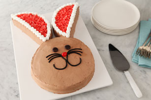 Chocolate Bunny Cake