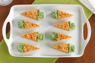 Carrot-Shaped RICE KRISPIES® TREATS™