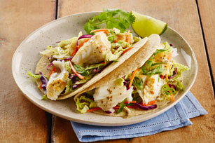 Zesty Lime Fish Tacos Image 1