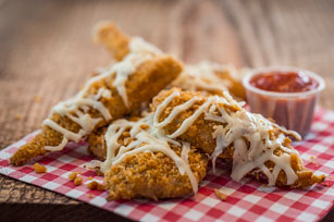 Parmesan Chicken Fingers