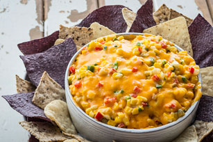 Cheesy Mexican Corn Dip Image 1