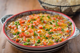Cheddar-Jalapeño Black Bean Dip