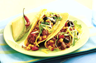 Corn and Chicken Tacos
