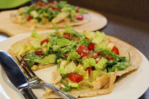 Chicken-Caesar Pizzas for Two Image 1