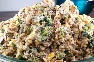 Broccoli and Pasta Salad for Large Gatherings Image 1