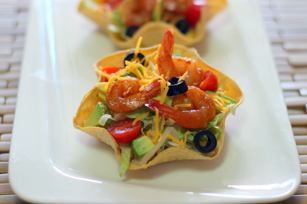 Mini Shrimp Taco Bowls Image 1