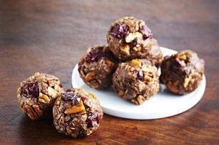 Chocolate-Peanut Butter Snack Bites