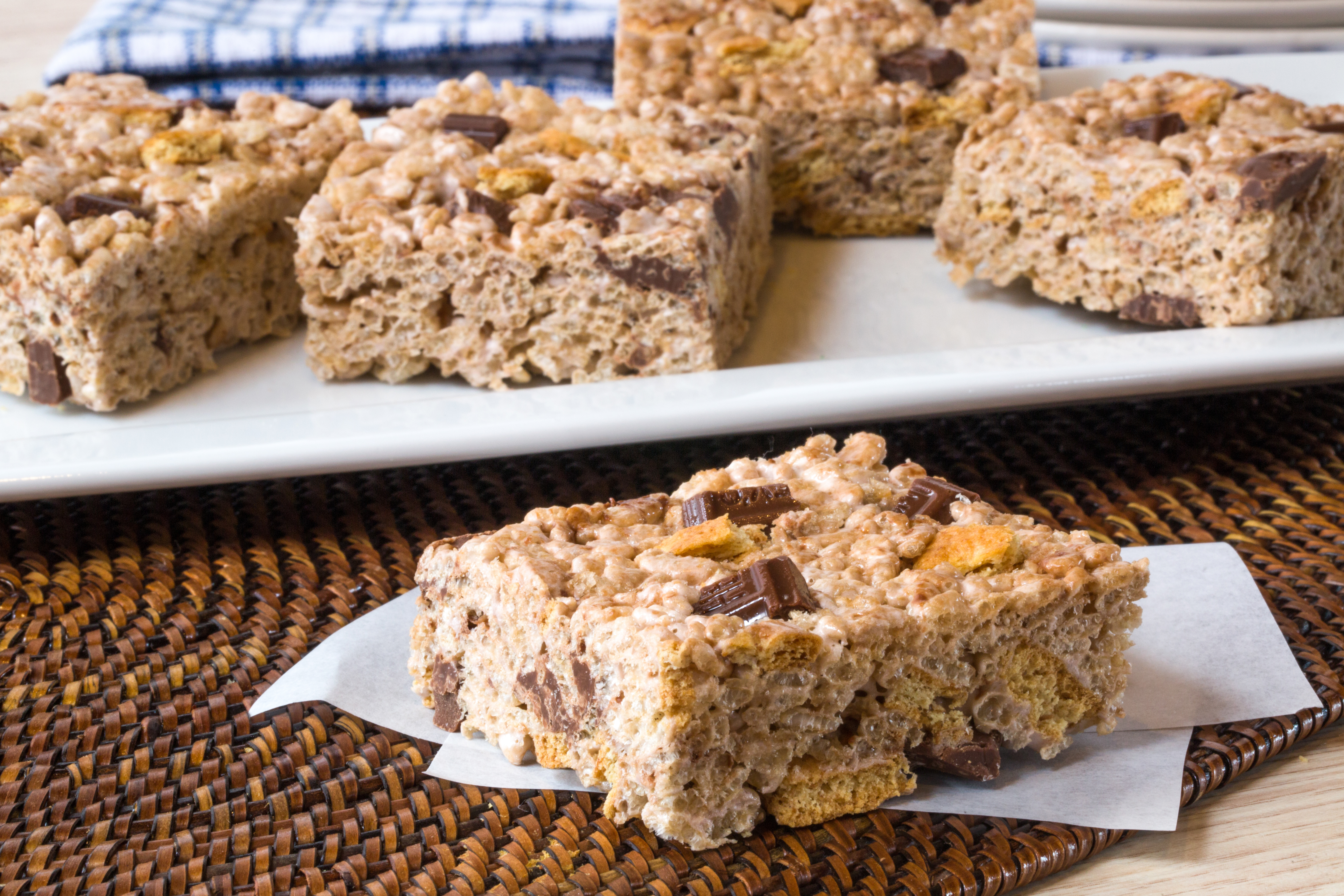Double Chocolate S'Mores RICE KRISPIES® TREATS® Image 1
