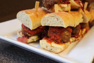 Mini-burgers aux boulettes de viande Image 1