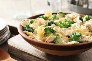 Chicken, Cheddar and Broccoli Pasta Salad