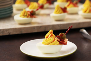 Bloody Mary Devilled Eggs Image 1