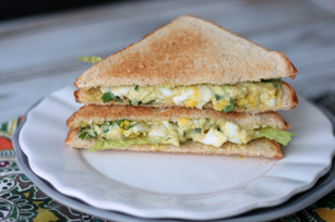 Southwest Egg Salad Sandwich Image 1
