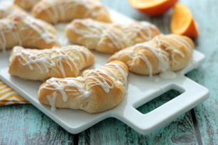 Orange Danish Crescent Rolls Image 1