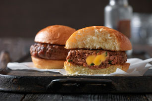 VELVEETA Spicy Bacon and Spinach Sliders Image 1