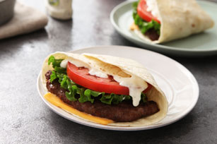 Burgers-tacos au fromage