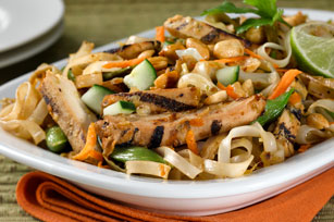 Chicken-Rice Noodle Stir-Fry for Two Image 1