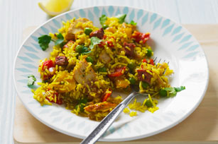 Paella with Chicken and Chorizo Image 1