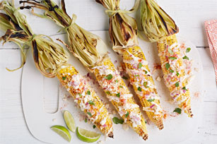 Grilled Mexican Corn Image 1