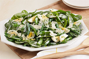 Green Bean-Spinach Salad