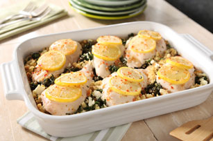 Spinach and Feta Chicken Bake Image 1