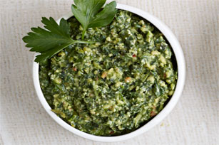 Parsley and Parmesan Pesto Image 1