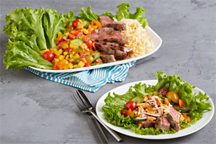Chimichurri Grilled Steak Salad