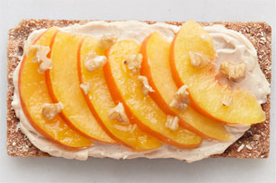 Peach Crisp Snack Image 1